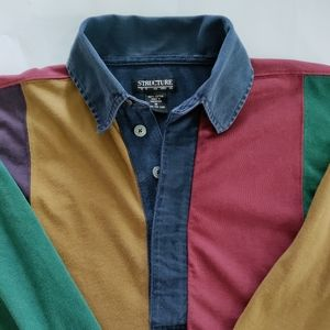 Men's M Structure long sleeve shirt
